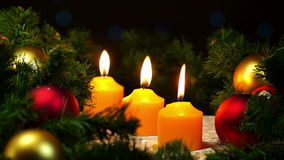 Christmas and New Year decoration stock video