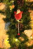 Christmas and New Year decoration decorative snowman Royalty Free Stock Images
