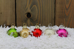 Christmas and New Year Decoration. Royalty Free Stock Photography