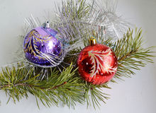 Christmas New Year decoration. Royalty Free Stock Photo