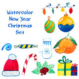 Christmas and New Year decoration and mood set Stock Photo