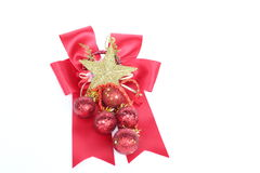 Christmas and New Year decoration objects. Stock Photography