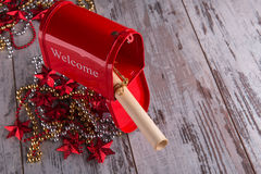 Christmas  and New Year decoration Royalty Free Stock Image