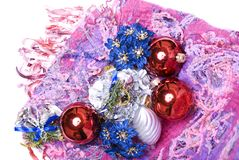 Christmas and New Year decorations Stock Photography