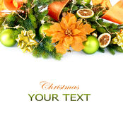 Christmas and New Year Decorations Royalty Free Stock Photo