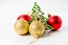 Christmas and new year decorations Stock Photo