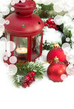 Christmas and New Year Decorations Stock Image