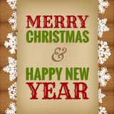 Christmas and new year design Stock Photos