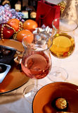 Christmas and New year dinner Royalty Free Stock Image