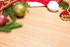 Christmas and New Year festive background Stock Images