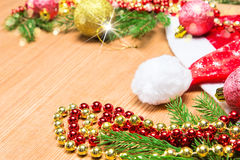 Christmas and New Year festive background Royalty Free Stock Image