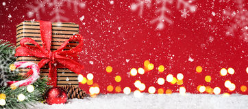 Christmas or New Year festive background Royalty Free Stock Photography