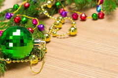 Christmas and New Year festive background Royalty Free Stock Images