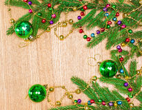 Christmas and New Year festive background Royalty Free Stock Photo