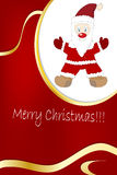Christmas and New year frame Stock Image