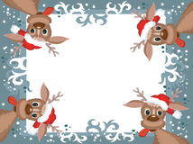 Christmas,New Year frame. Stock Photography