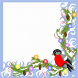 Christmas,New Year frame. Royalty Free Stock Photography