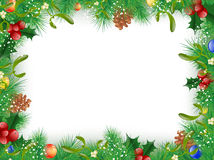 Christmas and New Year Frame Royalty Free Stock Photo