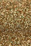 Christmas New Year Gold and Silver Glitter background. Holiday abstract texture Stock Images