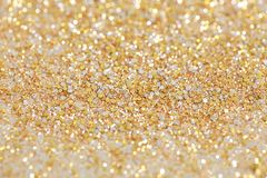 Christmas New Year Gold and Silver Glitter background. Holiday abstract texture. Christmas New Year Gold and Silver Glitter background. Holiday abstract Royalty Free Stock Photo