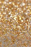 Christmas New Year Gold and Silver Glitter background. Holiday abstract texture. Christmas New Year Gold and Silver Glitter background. Holiday abstract Stock Photo