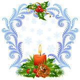 Christmas and New Year greeting card 3 Stock Photo