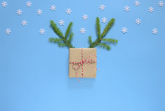 Christmas or New Year holidays greeting card concept Royalty Free Stock Images