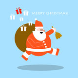 Christmas and New Year greeting cards. Vector design eps 10 Royalty Free Stock Photography