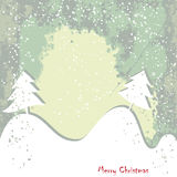Christmas , New Year greeting grundy card Royalty Free Stock Photo
