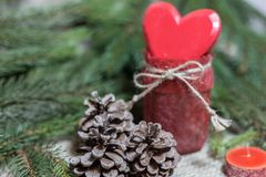 Christmas and New Year holiday background royalty free stock photo