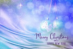 Christmas and New Year Holiday background royalty free stock image