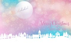 Christmas and New Year Holiday background vector illustration