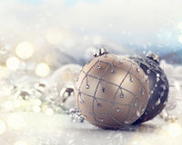 Christmas and New Year holiday decoration Royalty Free Stock Photo