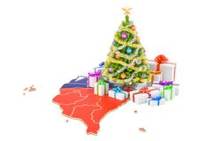 Christmas and New Year holidays in Taiwan concept. 3D rendering Stock Image