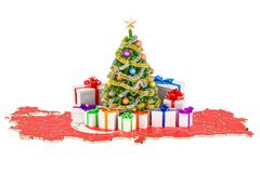 Christmas and New Year holidays in Turkey concept. 3D rendering Stock Photography