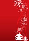 Christmas / New Year illustration background Stock Images