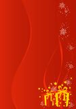 Christmas / New Year illustration background Royalty Free Stock Images