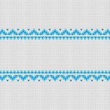 Vector knitted frame background whith place for text Royalty Free Stock Images