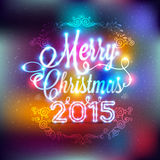 Christmas and New year label Royalty Free Stock Photo