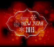 Christmas and new year light vector background Stock Images