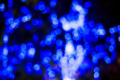 Christmas and New Year Lights Bokeh. Decoration Stock Images