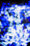 Christmas and New Year Lights Bokeh. Decoration Royalty Free Stock Photos