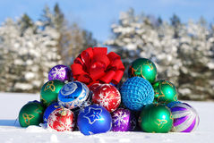 Christmas and New Year Ornament Stock Photography