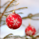 Christmas and New Year Ornament Royalty Free Stock Photo