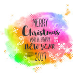 Christmas and New Year Party celebrations banner. Royalty Free Stock Images