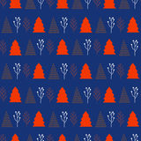Christmas and New Year pattern  stylish trendy colors Stock Photos