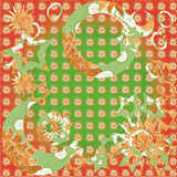Christmas, new year patterned background Royalty Free Stock Photos