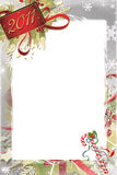Christmas and New Year Photo Frame Stock Photos