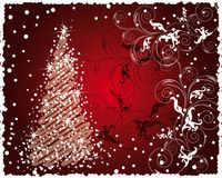 Christmas and New Year's background Royalty Free Stock Photo
