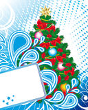 Christmas and New Year's background Stock Image